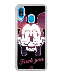 Coque Galaxy A40 – Mickey Fuck You