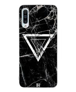 Coque Galaxy A50 – Black marble