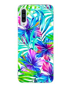Coque Galaxy A50 – Exotic flowers