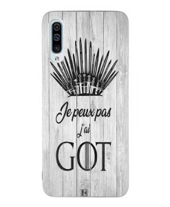Coque Galaxy A50 – Je peux pas j'ai Game of Thrones
