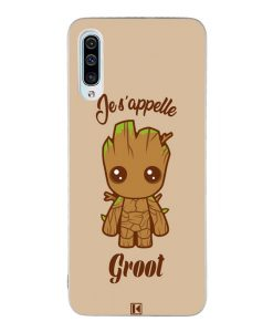 Coque Galaxy A50 – Je s'appelle Groot