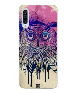 Coque Galaxy A50 – Owl face