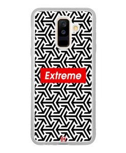 Coque Galaxy A6 Plus – Extreme geometric