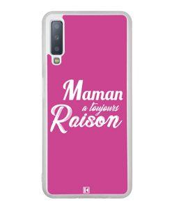 Coque Galaxy A7 2018 – Maman a toujours raison
