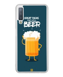 Coque Galaxy A7 2018 – Start with a beer