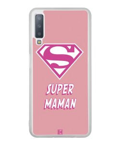 Coque Galaxy A7 2018 – Super Maman