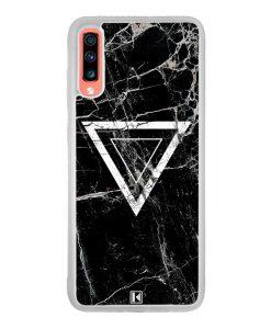 Coque Galaxy A70 – Black marble