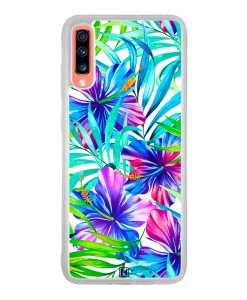 Coque Galaxy A70 – Exotic flowers