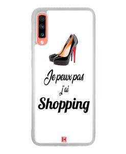 Coque Galaxy A70 – Je peux pas j'ai Shopping