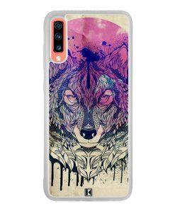 Coque Galaxy A70 – Wolf Face
