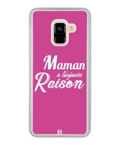 Coque Galaxy A8 2018 – Maman a toujours raison