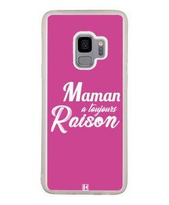 Coque Galaxy S9 – Maman a toujours raison