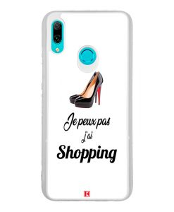 Coque Huawei P Smart 2019 – Je peux pas j'a Shopping