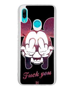 Coque Huawei P Smart 2019 – Mickey fuck you