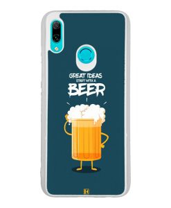 Coque Huawei P Smart 2019 – Start with a beer