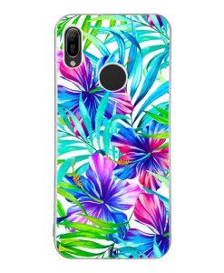 Coque Huawei Y6 2019 – Exotic flowers