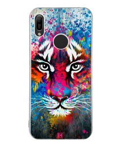 Coque Huawei Y6 2019 – Exotic tiger