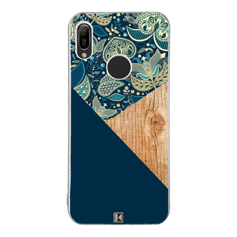 coque y6 2019 huawei bleu