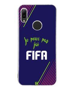 Coque Huawei Y6 2019 – Je peux pas j'ai FIFA