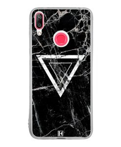 Coque Huawei Y7 2019 – Black marble