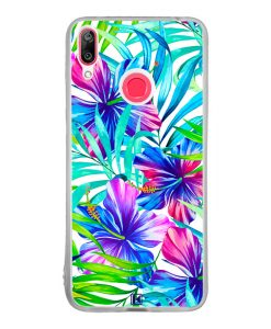 Coque Huawei Y7 2019 – Exotic flowers