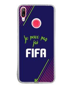 Coque Huawei Y7 2019 – Je peux pas j'ai FIFA