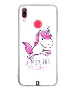 Coque Huawei Y7 2019 – Je peux pas j'ai Licorne
