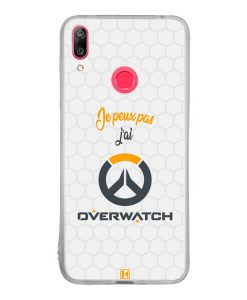 Coque Huawei Y7 2019 – Je peux pas j'ai Overwatch