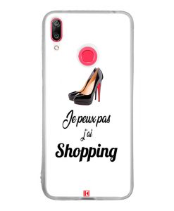 Coque Huawei Y7 2019 – Je peux pas j'ai Shopping