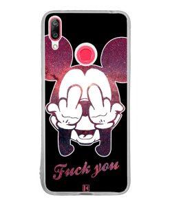 Coque Huawei Y7 2019 – Mickey Fuck You
