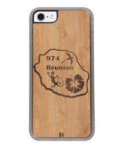 Coque iPhone 7 / 8 – Réunion 974