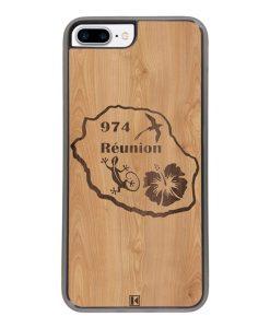 Coque iPhone 7 Plus / 8 Plus – Réunion 974