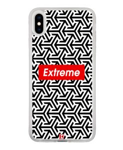 Coque iPhone X / Xs – Extreme geometric