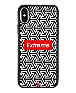 theklips-coque-iphone-x-rubber-noir-extreme-geometric