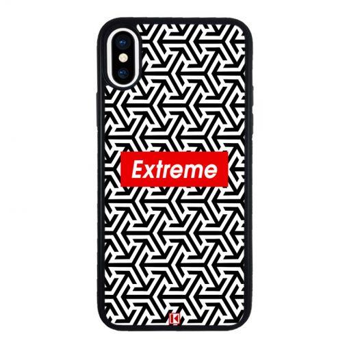 theklips-coque-iphone-x-rubber-noir-extreme-geometric