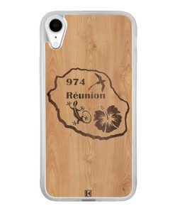 Coque iPhone Xr – Réunion 974