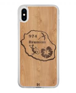 Coque iPhone Xs Max – Réunion 974