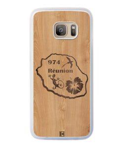 Coque Galaxy S7 Edge – Réunion 974