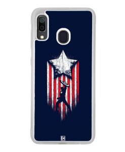 Coque Galaxy A30 – Captain America