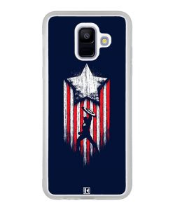 Coque Galaxy A6 2018 – Captain America