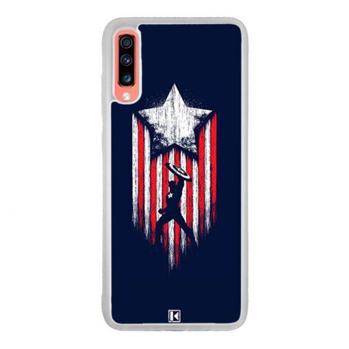 Coque Galaxy A70 – Captain America