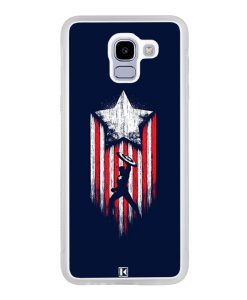 Coque Galaxy J6 2018 – Captain America