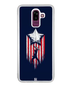 Coque Galaxy J8 2018 – Captain America