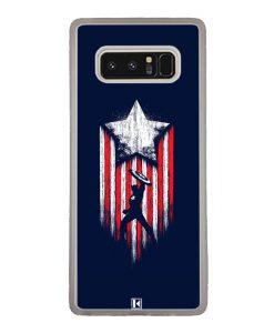 Coque Galaxy Note 8 – Captain America