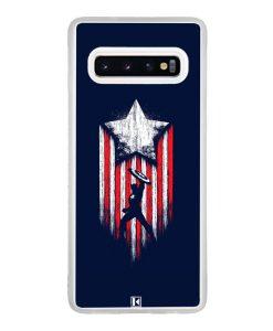 Coque Galaxy S10e – Captain America