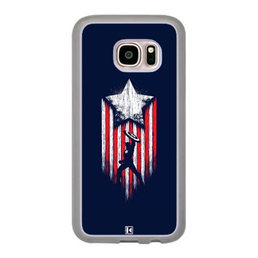 Coque Galaxy S7 – Captain America