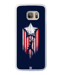 Coque Galaxy S7 Edge – Captain America