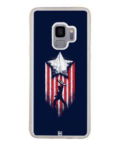 Coque Galaxy S9 – Captain America