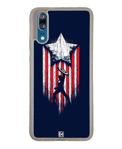 Coque Huawei P20 – Captain America