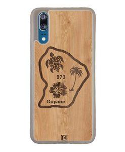 Coque Huawei P20 – Guyane 973